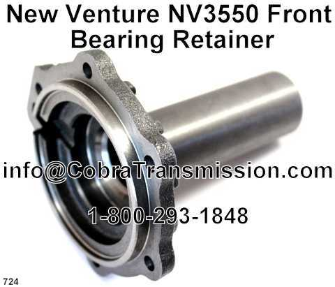 New Venture NV3550 Front Bearing Retainer
