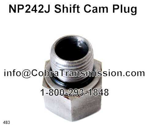 NP242J Shift Cam Plug