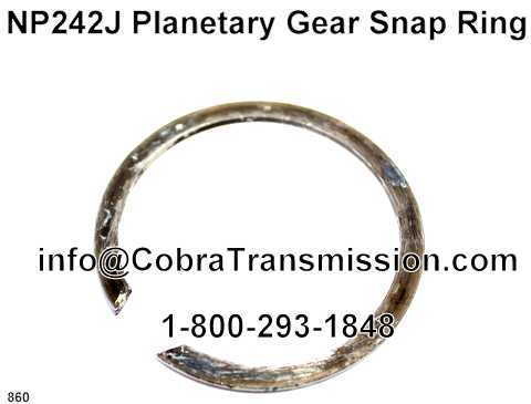 NP242J Planetary Gear Snap Ring