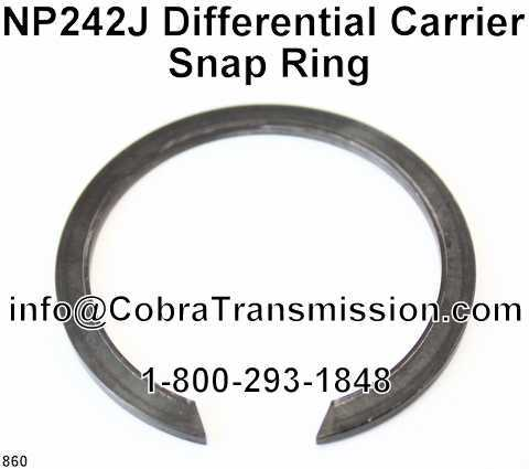 NP242J Differential Carrier Snap Ring