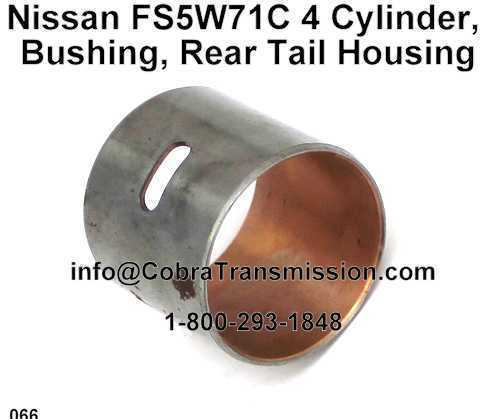 Nissan FS5W71C 4 Cylinder, Bushing, Rear Tail Housing