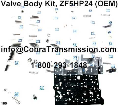 Valve Body Kit, ZF5HP24 (OEM)