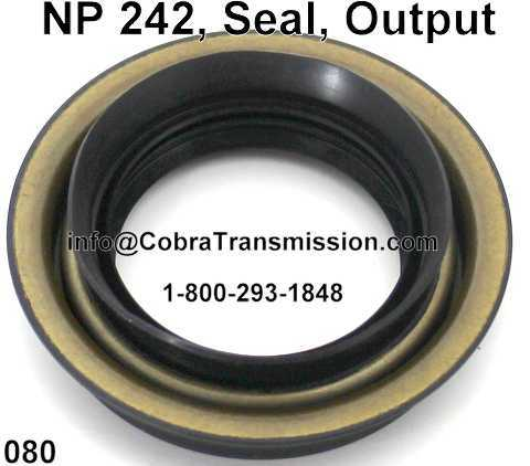 NP 242, Seal, Output