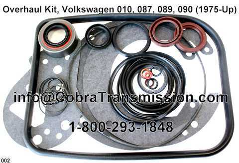 Overhaul Kit, Volkswagen 010, 087, 089, 090 (1975-Up)