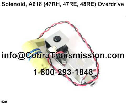 Solenoid, A618 (47RH, 47RE, 48RE) Overdrive