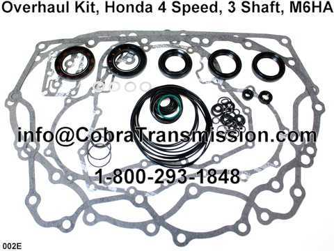 Overhaul Kit, Honda 4 Speed, 3 Shaft, M6HA