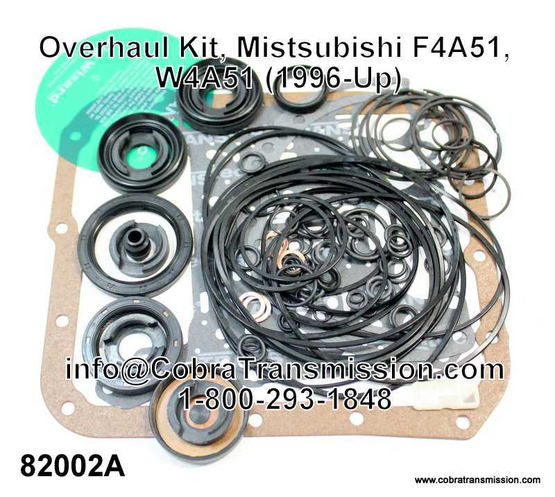 Overhaul Kit, Mistsubishi F4A51, W4A51, F4A5A, W4A5A (1996-Up)