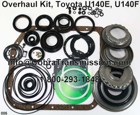 Overhaul Kit, Toyota U140E, U140F