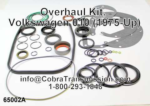 Overhaul Kit, Volkswagen 010 (1975-Up)