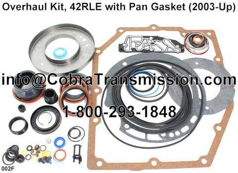 Overhaul Kit, 42RLE with Pan Gasket (2003-Up)