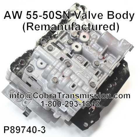 P89740 3 Valve Body valve body kit , cobra transmission Jetta Transmission Valve Body at nearapp.co