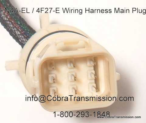 Parts 4F27E Wire Harness 446 (4) harness, wiring (internal), fn4a el, 4f27e, fnr5 [48446] $84 99 el camino wire harness at edmiracle.co