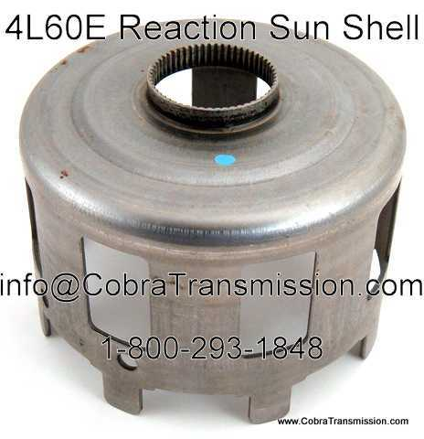 Shell, Reaction Sun (Bearing Type) (4L65E) Splines Heat Treated: