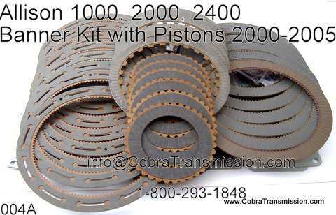 Banner Kit, Allison 1000, 2000, 2400 (5 & 6 Speed) (2001-2005)