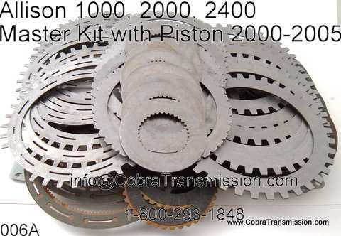 Master Kit, Allison 1000, 2000, 2400 (5 & 6 Speed) (2001-05)