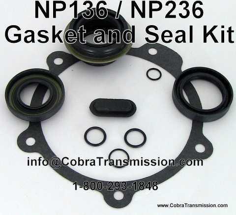 NP 136, Gasket & Seal Kit