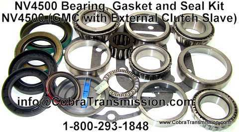 NV4500, Bearing, Gasket and Seal Kit