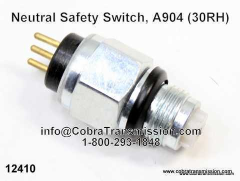 A904 (TF6) Neutral Safety Switch, 3 Prong
