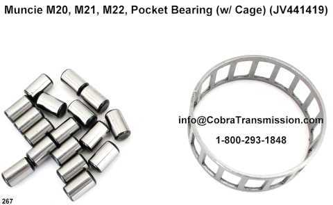 Muncie M20, M21, M22, Pocket Bearing