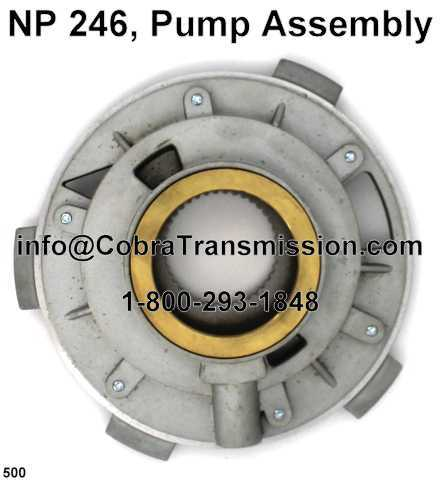 NP 246, Pump Assembly