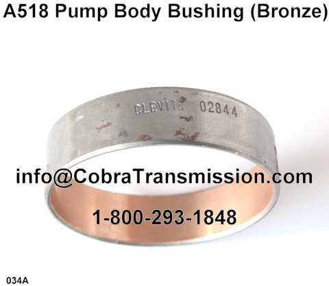A518 Pump Body Bushing (Bronze)