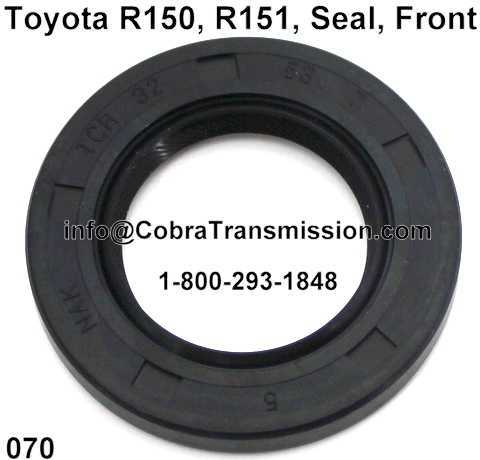 Toyota R150, R151, Seal, Front