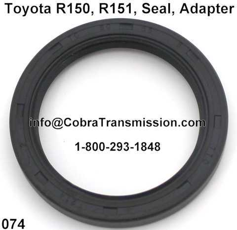 Toyota R150, R151, Seal, Adapter