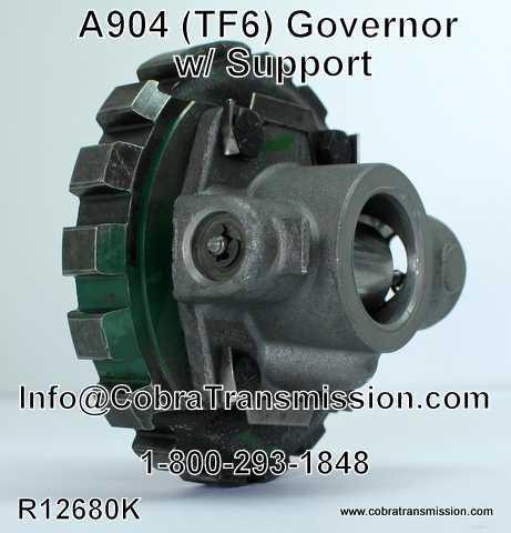 A904 (TF6) Governor w/ Support