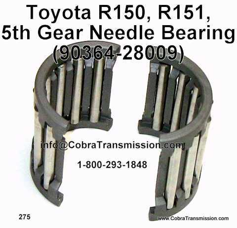 Toyota R150, R151, 5th Gear Needle Bearing