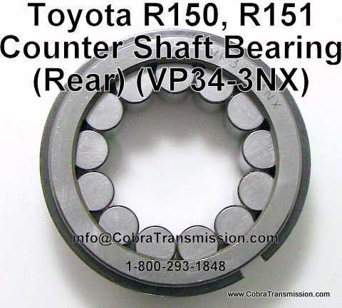 Toyota R150, R151, Counter Shaft Bearing