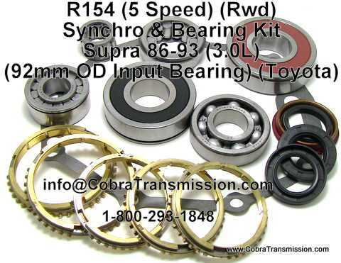 R150 Synchro, Bearing, Gasket and Seal Kit