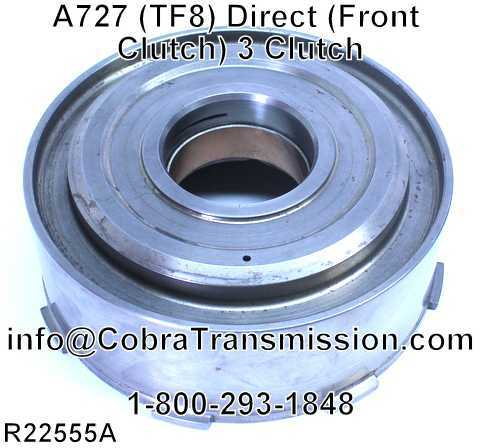 A727 (TF8) Direct (Front Clutch) 3 Clutch