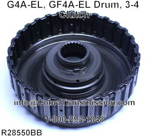 G4A-EL, GF4A-EL Drum, 3-4 Clutch