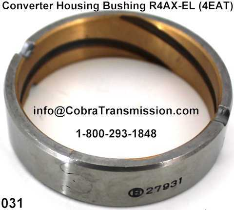 Converter Housing Bushing R4AX-EL (4EAT)