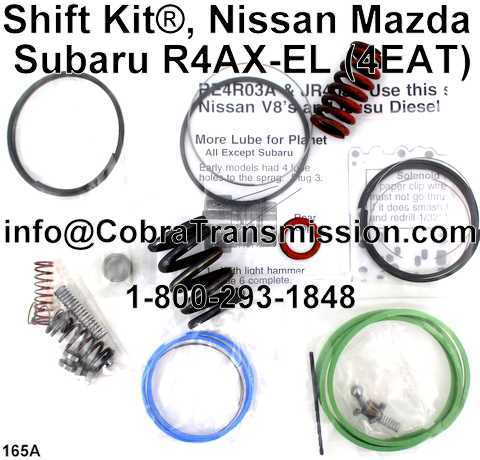 Shift Kit®, Nissan Mazda Subaru R4AX-EL (4EAT)