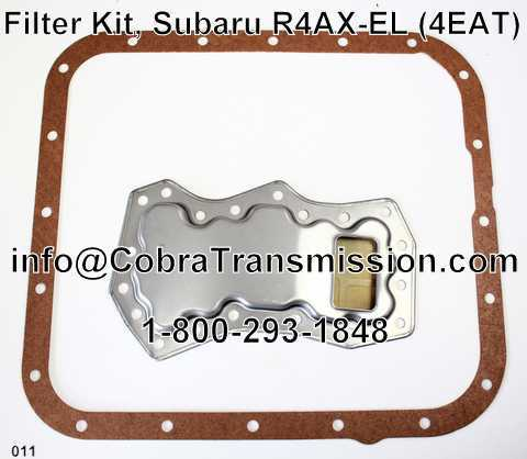 Filter Kit, Subaru R4AX-EL (4EAT)