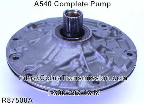 A540 Complete Pump