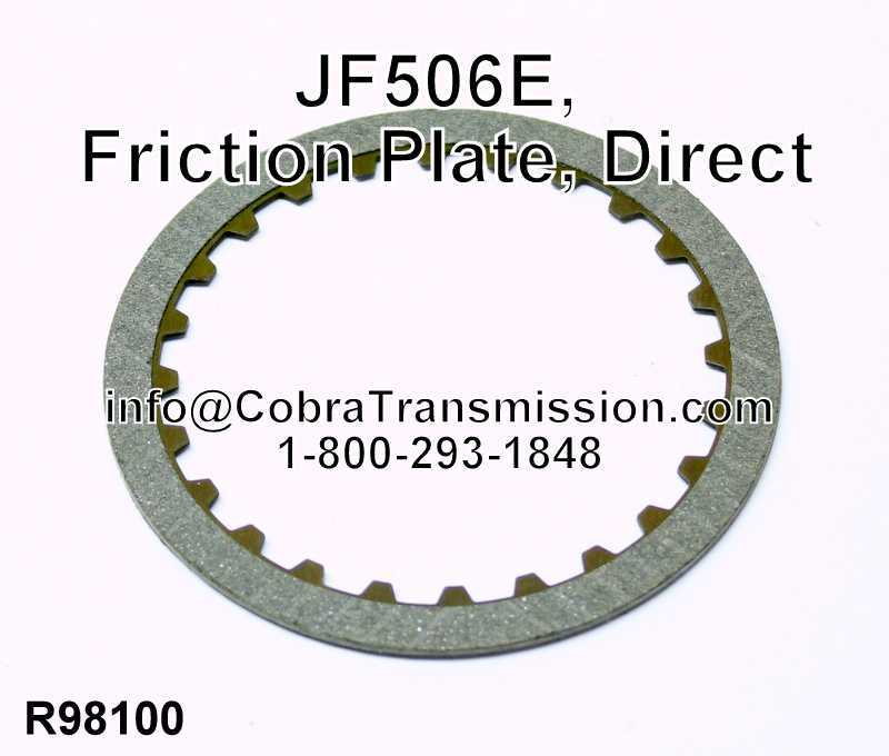 JF506E, Friction Plate, Direct