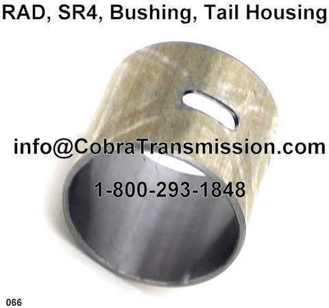 RAD, SR4, Bushing, Tail Housing
