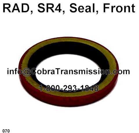 RAD, SR4, Seal, Front