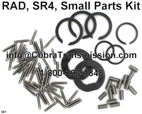 RAD, SR4, Small Parts Kit