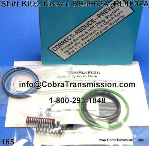 Shift Kit®, Nissan RE4F02A, RL4F02A