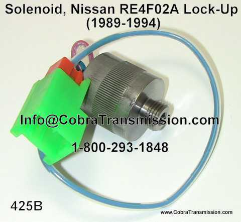 Solenoid, Nissan RE4F02A