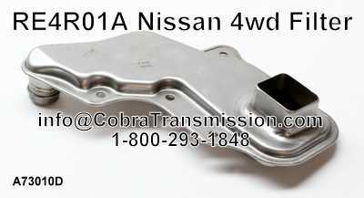RE4R01A Nissan 4wd Filter