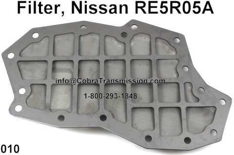 Filter, Nissan RE5R05A