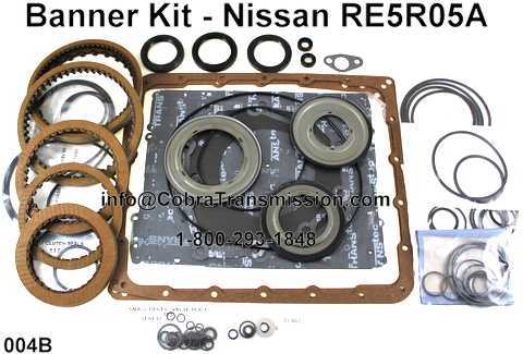Banner Kit - Nissan RE5R05A