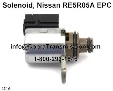 RE5R05A EPC Solenoid High Ohm