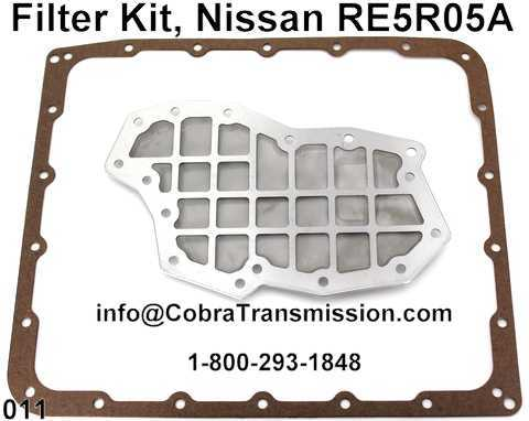 Filter Kit, Nissan RE5R05A