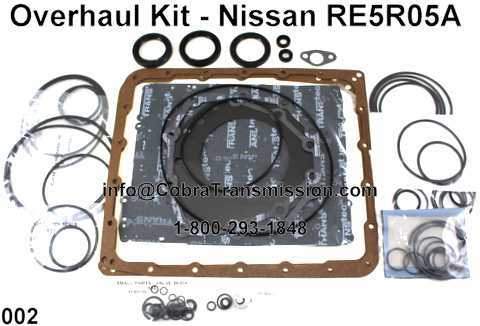Overhaul Kit - Nissan RE5R05A