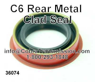 C6 Rear Metal Clad Seal
